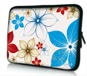 Sleevy 11,6 inch laptophoes macbookhoes zomerse bloemen