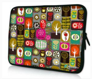 Sleevy 11,6 inch laptophoes macbookhoes kleurrijke symbolen