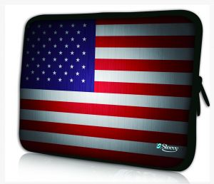 Sleevy 11,6 inch laptophoes macbookhoes USA vlag