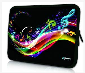 laptophoes 13.3 inch muzieknoten Sleevy