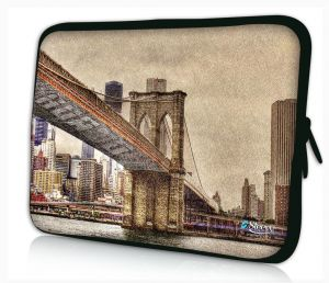 laptophoes 14 inch Brooklyn Bridge sleevy