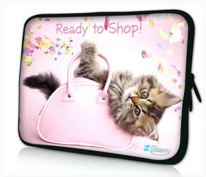 laptophoes 14 inch poesje sleevy