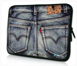 laptophoes 14 inch spijkerbroek sleevy