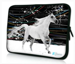 Sleevy 15,6 inch laptophoes paard