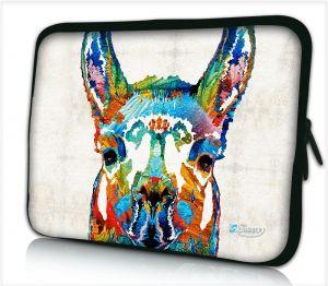 Laptophoes 17,3 inch lama artistiek - Sleevy