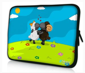 laptophoes 17,3 schapen sleevy