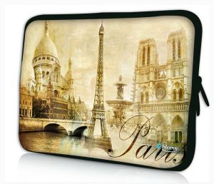 laptophoes 17.3 inch Paris Sleevy