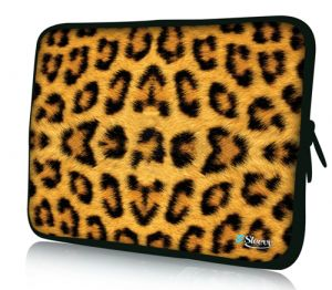 "Sleevy 15"" laptophoes luipaard"
