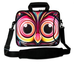 laptoptas 15 inch artistieke uil Sleevy