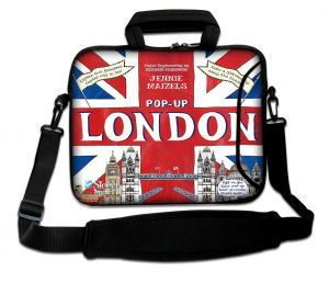 laptoptas 15 inch pop-up Londen Sleevy