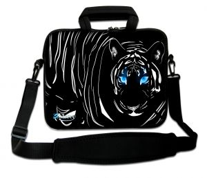 laptoptas 15 inch zwarte tijger Sleevy