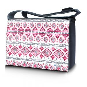 Sleevy 15,6 inch laptoptas artistiek design
