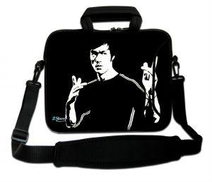 Sleevy 15,6 inch laptoptas Bruce Lee
