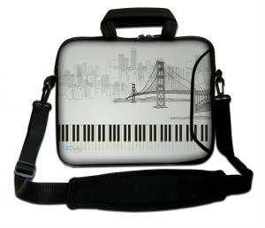 Sleevy 15.6 inch laptoptas Golden Gate Bridge