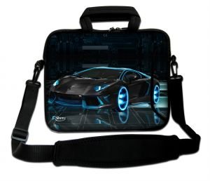 Sleevy 15,6 inch laptoptas sportauto design