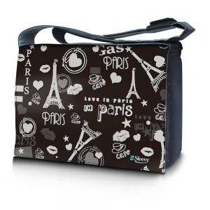 Sleevy 15,6 inch laptoptas Love Paris