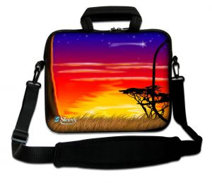 Sleevy 17.3 inch laptoptas Afrika