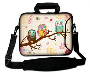 Sleevy 17.3 inch laptoptas uilen