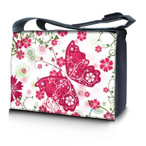 17,3 inch laptoptas roze vlinder Sleevy