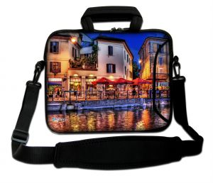 Sleevy 17,3 inch laptoptas Venetie