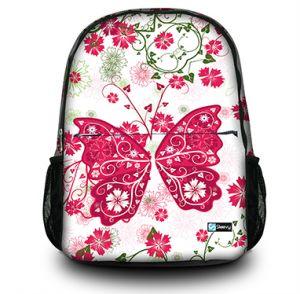 Rugzak roze vlinder Sleevy