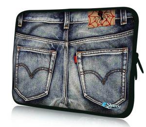 """Sleevy 13"""" laptophoes spijkerbroek"""