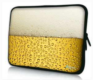 "Sleevy 11"" laptophoes bier"