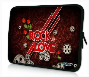 Sleevy 15 inch laptophoes love rock