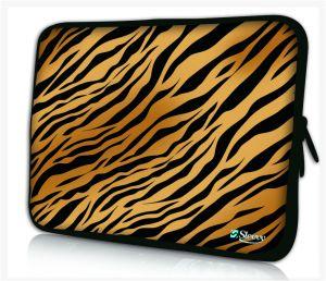 Sleevy 14 inch laptophoes tijgerstrepen