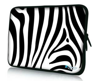 "Sleevy 17"" laptophoes zebra"