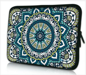 Tablet hoes / laptophoes 10,1 inch patroon artistiek - Sleevy